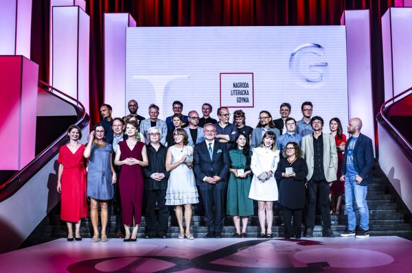 Laureaci, gala finałowa Nagrody Literackiej 2019
