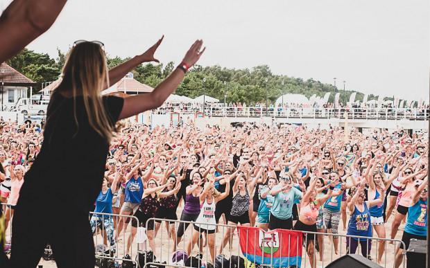 Anna Cegłowska jest prezenterem zumba fitness na maratonach i imprezach w całej Polsce.
