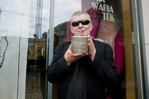 """Marcin Świetlicki - laureat Nagrody Literackiej Gdynia 2014 w kategorii """"Poezja"""""""