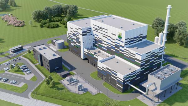 Tak będzie wyglądać spalarnia, która ma powstać do 2022 r. na terenie Zakładu Utylizacyjnego przy ul. Jabłoniowej.