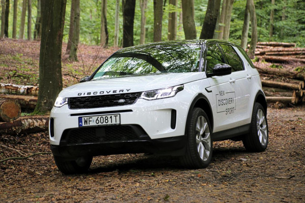 Nowy Land Rover Discovery Sport po faceliftingu
