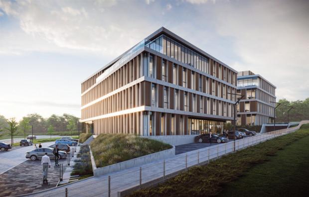 Pierwszy z dwóch budynków Matarnia Office Park ma zostać oddany do użytku za rok.
