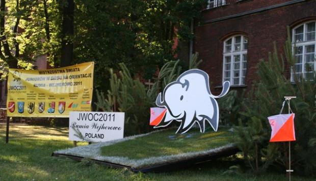 Biuro Zawodów Mistrzostw Świata Juniorów w Biegu na Orientację