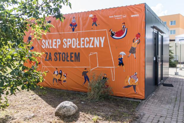 Otwarcie sklepu społecznego w Gdyni.