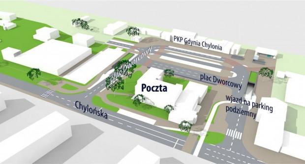 Tak będzie wyglądał plac Dworcowy po przebudowie.