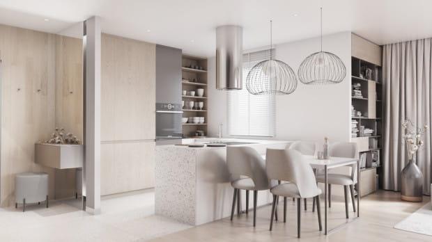 Lastryko jest uniwersalnym materiałem, który można stosować zarówno w kuchni, łazience jak i innych pomieszczeniach.