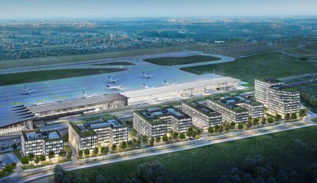 Kompleks Airport City powstanie w bezpośrednim sąsiedztwie portu lotniczego w Gdańsku.