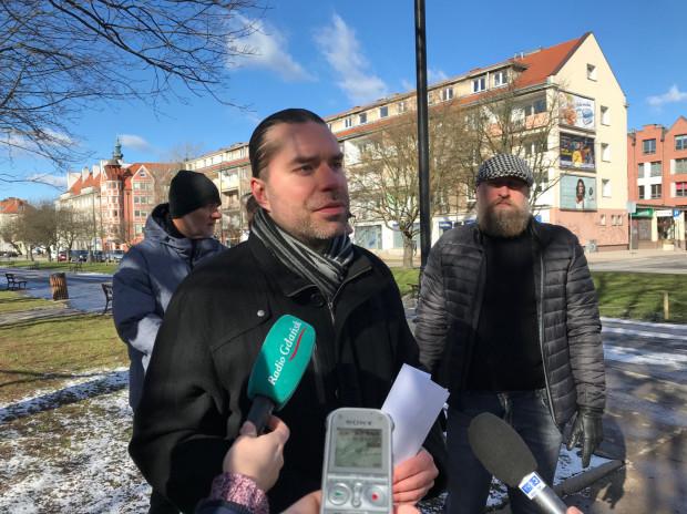 Karol Spieglanin z FRAG decyzję o budowie parkingu podziemnego przy Podwalu Staromiejskim oprotestował już zimą.