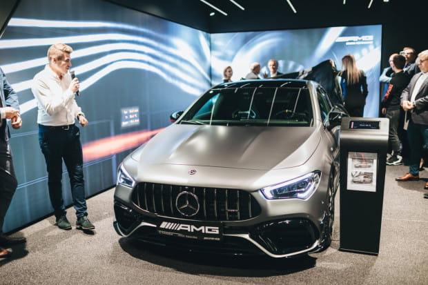 Premierowa prezentacja Mercedes-AMG CLA 45.
