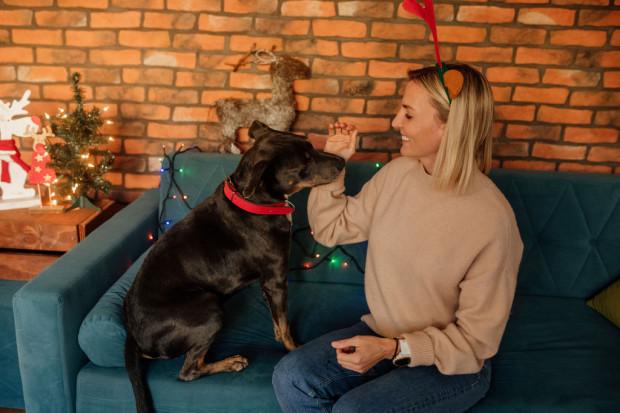 Anna Rogowska i pies Kilu