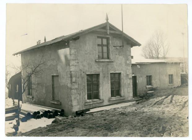 Siedziba sołectwa gdyńskiego do 1923 r. Zdjęcie wykonane ok. 1929 r. Ze zbiorów Muzeum Miasta Gdyni.