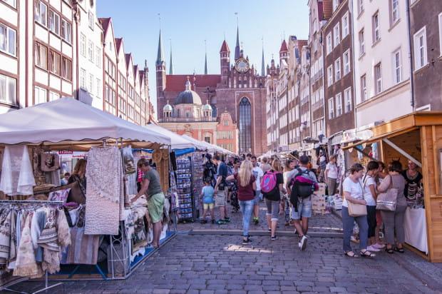 Prawie połowa osób, które latem przyjeżdżają do Gdańska wybiera się na jedną z plaż.