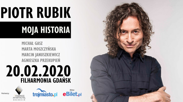 Piotr Rubik wystąpi w Filharmonii Bałtyckiej 20 lutego.