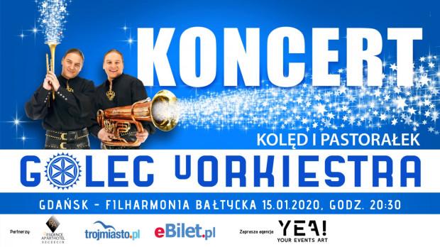 Golec uOrkiestra wystąpią w Filharmonii Bałtyckiej 15 stycznia.