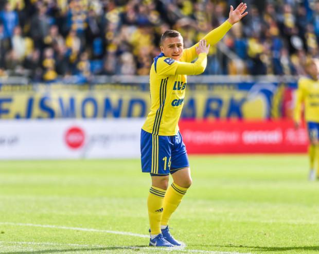 Michał Nalepa strzelił honorowego gola dla Arki Gdynia w przegranym meczu wyjazdowym z Wisłą Płock aż 1:4.