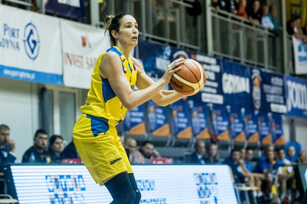 Rebecca Allen była najskuteczniejszą koszykarką meczu Arka Gdynia - Katarzynki Toruń na inaugurację Energa Basket Ligi Kobiet.