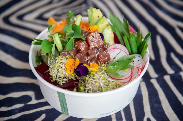 W Midori zjemy zdrowe michy w azjatyckim stylu, czyli poke bowl.