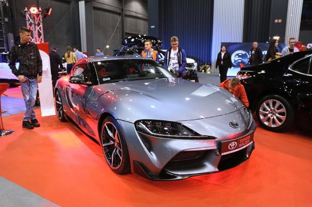 Ciekawą pozycją targów jest nowa Toyota Supra.