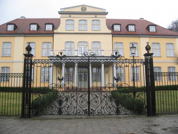 Dwór II, zwany Quellbrunne, przy ul. Polanki.