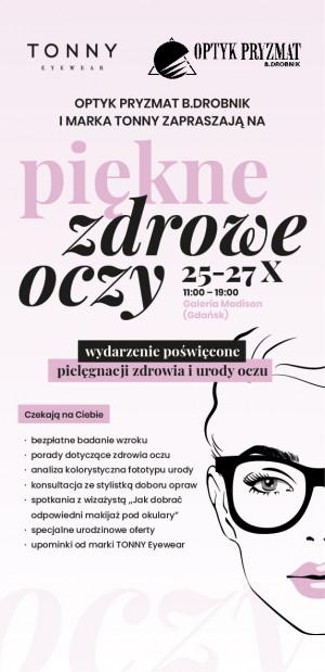 Optyk Pryzmat B. Drobnik istnieje od 15 lat.
