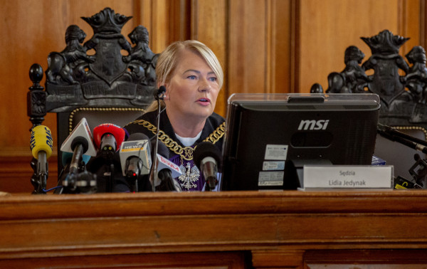 Sędzia Lidia Jedynak poinformowała w środę o wymiarze kary dla Katarzyny i Marcina P.