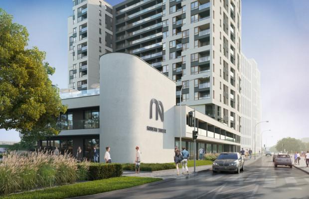 Obok powstaje inwestycja firmy Atal - aparthotel z częścią mieszkalną.