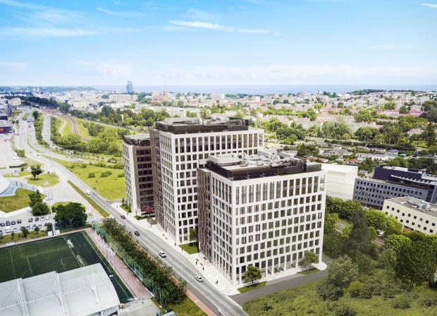 Biurowiec 3T Office ma być gotowy w kwietniu 2021 r. We wtorek wmurowano kamień węgielny pod budowę.