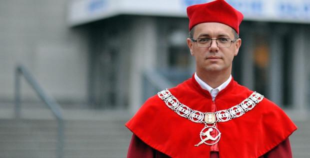 Prof. dr. hab. Paweł Cięszczyk p.o. rektora AWFiS.