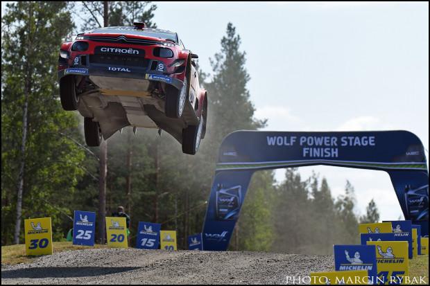 W filmie zobaczycie scenerię czterech rajdów WRC.