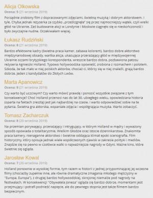 """Tak niedawno film """"Obywatel Jones"""" na gorąco recenzował zespół Trojmiasto.pl podczas 44. Festiwau Polskich Filmów Fabularnych w Gdyni."""