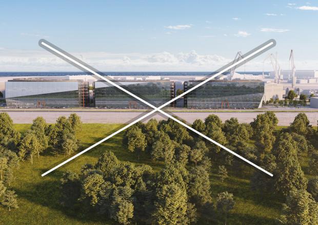 Biurowce, które wzdłuż Marynarki Polskiej wybudować miał deweloper Cavatina, będą miały inną architekturę i mniejszą wysokość.