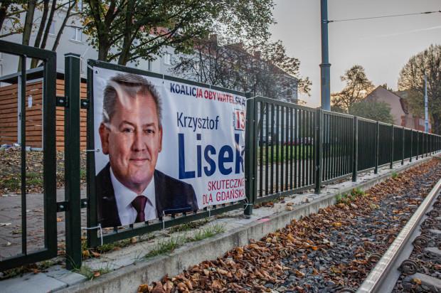 Taki plakat wisi jeszcze na ul. Kartuskiej.