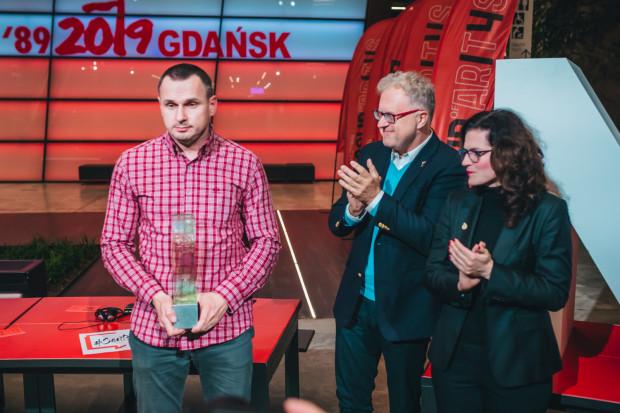 Sencow odebrał przy okazji nagrodę Neptuna, wręczoną mu symbolicznie w sierpniu podczas Solidarity of Arts, gdy przebywał jeszcze na Syberii w rosyjskim łagrze.