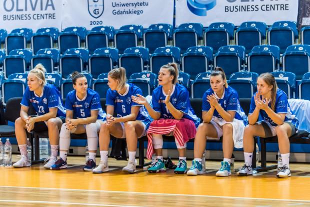 Koszykarki AZS Uniwersytet Gdańsk w Lubinie tylko do przerwy mogły mieć nadzieje na korzystny wynik.