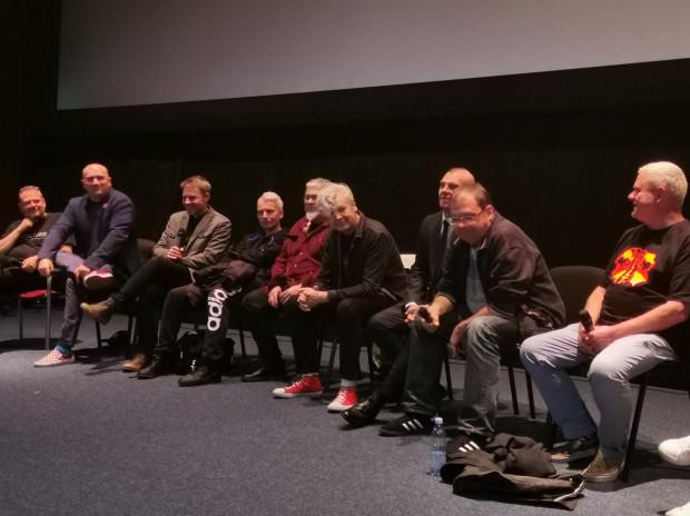 Członkowie zespołu po projekcji filmu chętnie dzielili się swoimi wrażeniami dotyczącymi dokumentu. Nie zabrakło też licznych anegdot nie tylko związanych z filmem Olgi Bieniek.
