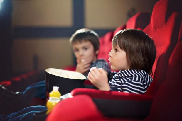W weekend kina proponują seanse dla dzieci.