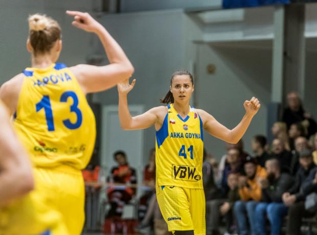 Barbora Balintova m.in. była tą koszykarką Arki Gdynia, która odpierała napór Pszczółki Pszczółkę Polski Cukier AZS UMCS Lublin, gdy przyjezdne próbowały odrabiać straty.