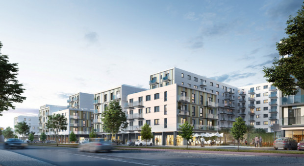 Chylońska Sto10. W budowie jest pierwszy etap inwestycji, ale docelowo w tym miejscu powstać ma około 400 mieszkań.