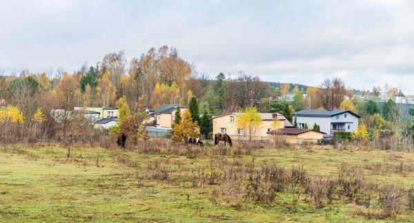 Mieszkańcy obawiają się zmiany charakteru dzielnicy Kaczych Buków. Na zdjęciu okolice ulicy Beskidzkiej.