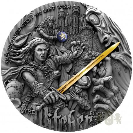 """Dwuuncjowa moneta o nazwie """"Ostatnie życzenie""""."""