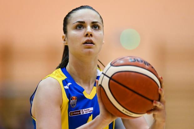 Barbora Balitova była najlepsza w kwietniu. Koszykarka Arki Gdynia tytuł Ligowca Miesiąca otrzymała również w październiku.