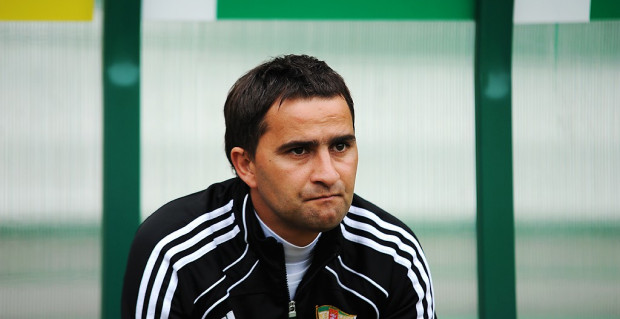 Tomasz Kafarski musi podjąć decyzję, który napastnik zagra w Lechii w przyszłym sezonie. Największe szanse mają Vuk Sotirović i Darko Bodul.