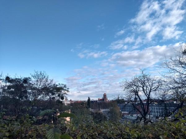 Widok z Fortu Góry Gradowej, gdzie będzie można zobaczyć instalację poświęconą fotografowi Rudolfowi Theodorowi Kuhnowi.