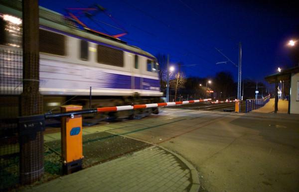 Do jednego z tragicznych zdarzeń doszło na przejeździe kolejowym na Oruni.