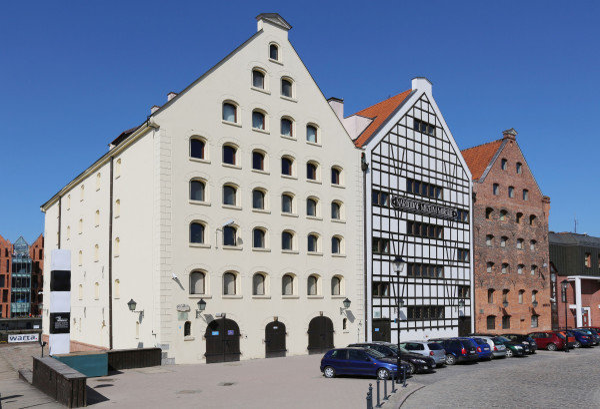 Spichlerze na Ołowiance, siedziba główna Narodowego Muzeum Morskiego w Gdańsku.