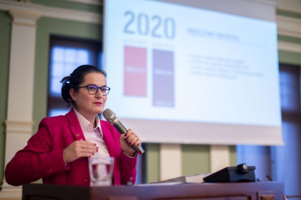 Prezydent Gdańska Aleksandra Dulkiewicz zaprezentowała w piątek założenia przyszłorocznego budżetu miasta.