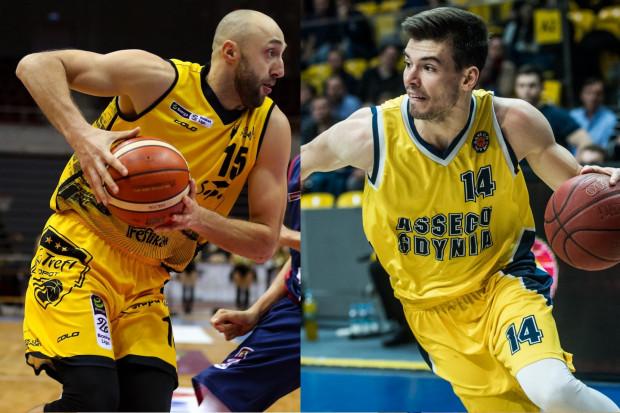 Witalij Kowalenko (z lewej, Trefl Sopot) uważa, że zwycięstwo pozwoli przedłużyć passę żółto-czarnych. Natomiast Wojciech Czerlonko (z prawej, Asseco Arka Gdynia) przyznaje, że wygrana umożliwi drużynie odżyć.