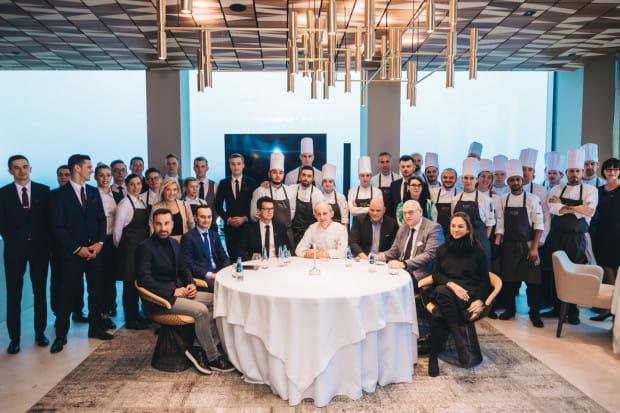 Cała drużyna restauracji Arco by Paco Pérez