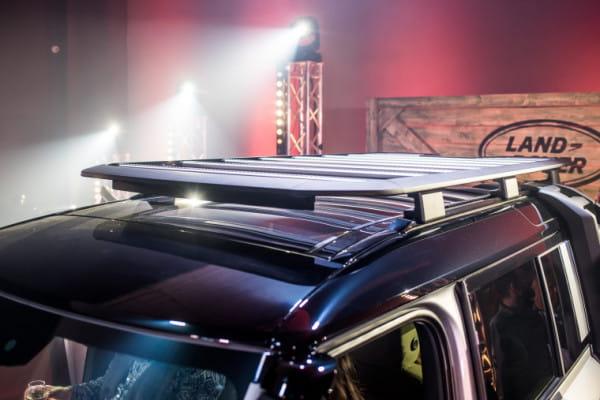 Bagażnik dachowy jest w stanie udźwignąć 300 kg.