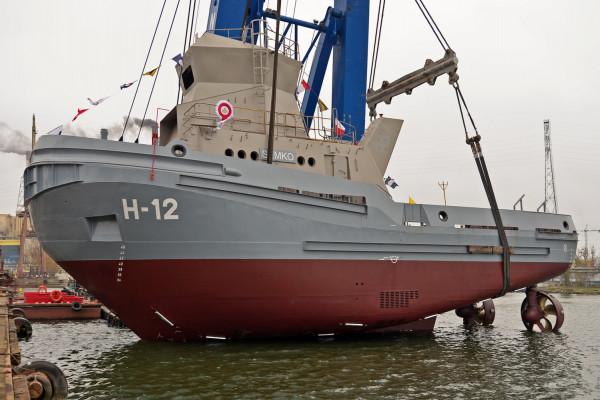 """Czwarty holownik dla Marynarki Wojennej otrzymał imię """"Semko""""."""